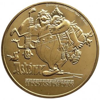 Médaille France Asterix - Obélix - Monnaie de Paris 2015