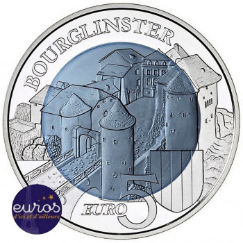 5 euros LUXEMBOURG 2019 -...