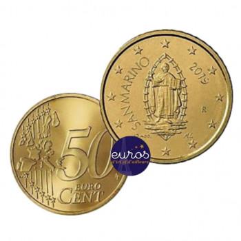 0,50 euro ou 50 cent SAINT MARIN 2019 - Oeuvre d'Emilio RETROSI - UNC