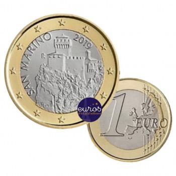 1 euro SAINT MARIN 2019 - La Deuxième Tour - UNC