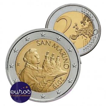 2 euros annuelle SAINT MARIN 2019 - Le Saint Marin - UNC