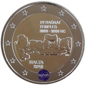 2 euros commémorative MALTE 2019 - Ta'Hagrat - UNC