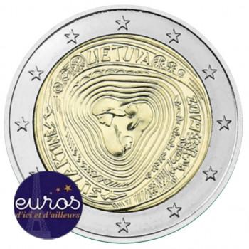 2 euros commémorative LITUANIE 2019 - Les Surtatinés, Chansons Folkloriques Traditionnelles - UNC