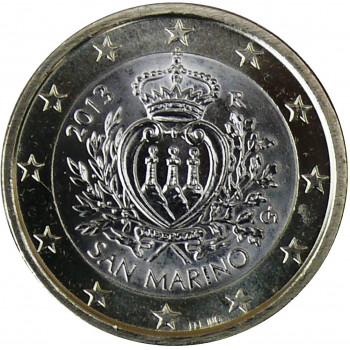 1 euro Saint Marin 2013