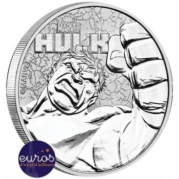 TUVALU 2019 - 1$ TVD - Hulk™ - Marvel (7) - 1 oz argent 999‰ - Bullion Coin