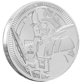 NIUE 2019 - 2$ NZD DARK VADOR™ - 1oz argent - Star Wars™ - Bullion Coin