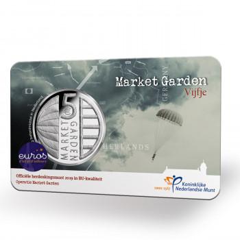 Coincard 5€ PAYS-BAS 2019 - Market Garden - UNC