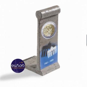 Elément du Mur de Berlin avec ou sans 2€ FRANCE ou ALLEMAGNE 2019 - Chute du Mur