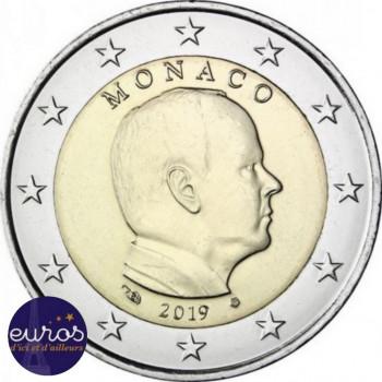 2 euros annuelle MONACO 2019 - Prince Albert II