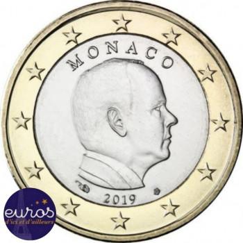 1 euro MONACO 2019 - Effigie du Roi Albert II