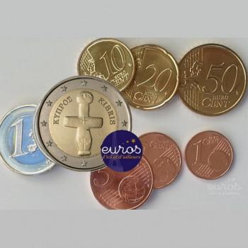 Série 1 cent à 2 euros CHYPRE 2019 - UNC