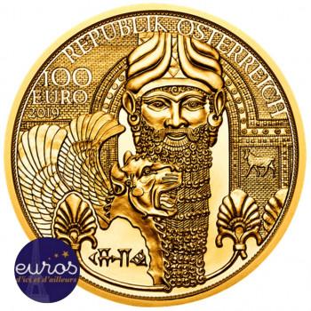 100 euros AUTRICHE 2019 -...
