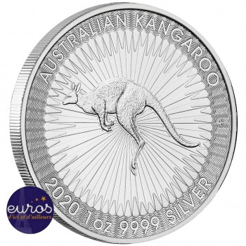 AUSTRALIE 2020 - Kangourou - Argent 1oz - Bullion - Perth Mint
