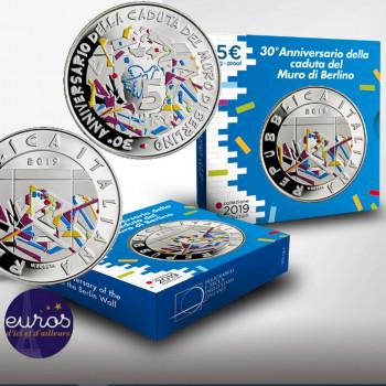 5 euros ITALIE 2019 - Chute...