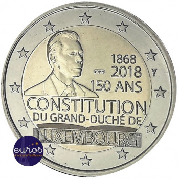 2 euros BU LUXEMBOURG 2018...