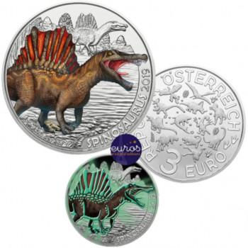 3 euros AUTRICHE 2019 - Spinosaurus - Série Dinosaures (1/12)