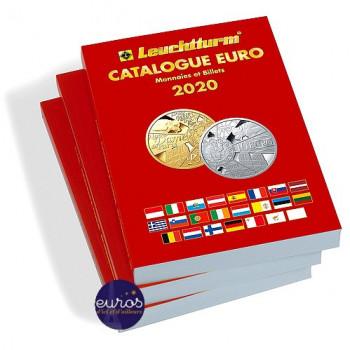Catalogue EURO 2020, cotation des pièces et billets - Nouvelle édition 2020 - 361353 - LEUCHTTURM
