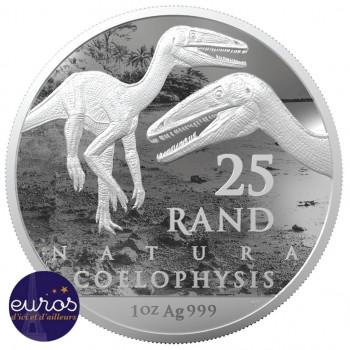 AFRIQUE du SUD 2020 - Natura : Coelophysis - Argent 1 Oz - Bullion Coin
