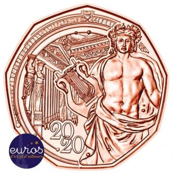 5 euros commémorative AUTRICHE 2020 en cuivre - Nouvelle Année
