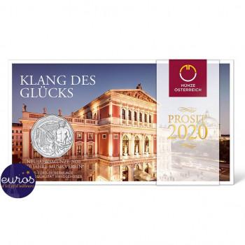 5 euros Autriche 2020  - Nouvelle Année - Argent 925‰