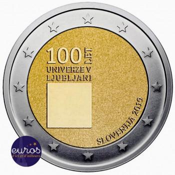 2 euros commémorative SLOVENIE 2019 - Université de Ljubljana - UNC