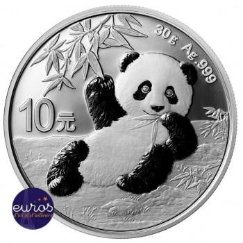 CHINE 2020 - 10 yuan - Panda - Argent 30 grammes - Bullion