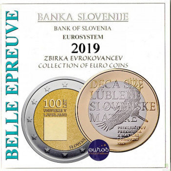 Coffret BE SLOVENIE 2019 -...