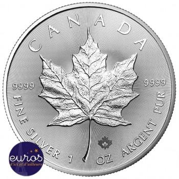 CANADA 2020 - Maple Leaf - 5 dollars CAD - 1 Oz - Argent 99,99‰ - Bullion Coin