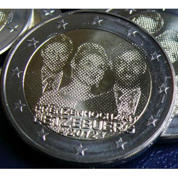 2 euros commémorative LUXEMBOURG 2012 -  Mariage Princier