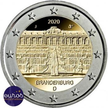 2 euros commémorative ALLEMAGNE 2020 - Brandebourg, Le Palais de Sanssouci - UNC