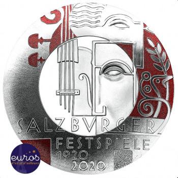 20 euros AUTRICHE 2020 - Centenaire du Festival de Salzburg - Argent 925‰