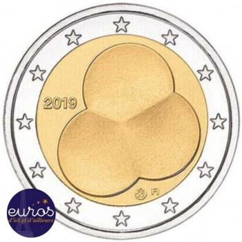 2 euros commémorative FINLANDE 2019 - 100ème anniversaire de la Constitution - UNC