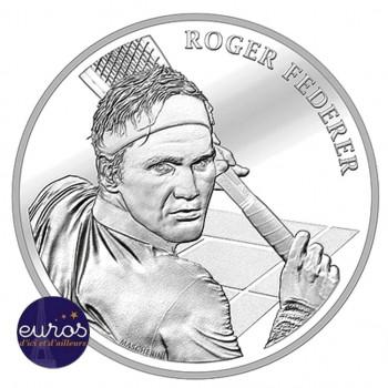 SUISSE 2020 - 20 francs CHF - Roger Federer - argent 835‰