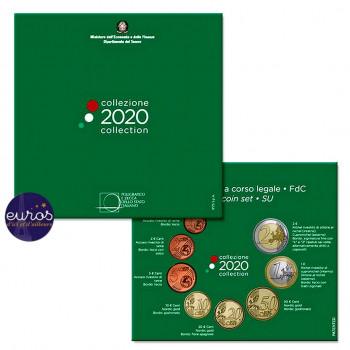 Set BU ITALIE 2020 - Série 1 cent à 2 euros
