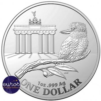 AUSTRALIE 2020 - Kookaburra - World Money Fair Berlin, Brandebourg - 1oz argent