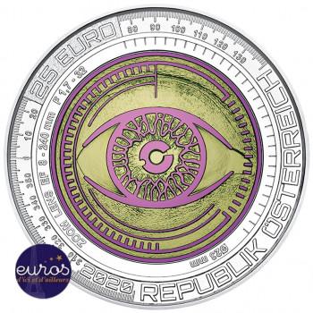 25 euros AUTRICHE 2020 - Argent-Niobium - Big Data