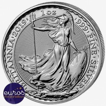GRANDE-BRETAGNE 2020 - 2£ Britannia - 1oz Argent 999,99‰ - Bullion Coin