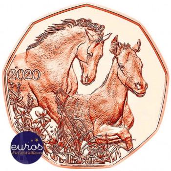 5 euros commémorative AUTRICHE 2020 - Pâques - Des Amis pour la Vie - Cuivre