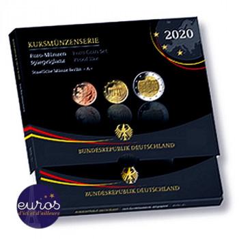 Coffret BE 5,88€ ALLEMAGNE 2020 inclus 2€ commémorative