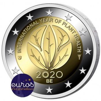 2 euros commémorative BELGIQUE 2020 - Année Internationale de la Santé des Végétaux - BU