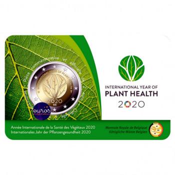 Coincard FR 2 euros BELGIQUE 2020 - Version Française - Année Internationale Santé des Végétaux - BU