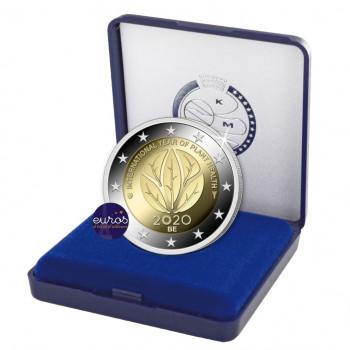 2 euros commémorative BELGIQUE 2020 - Année Internationale de la Santé des Végétaux - Belle Epreuve