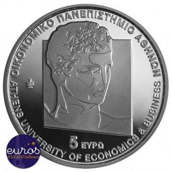 5 euros GRECE 2020 - Centenaire de l'Université d'Athènes - Argent BU