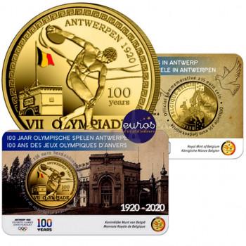 Coincard 2,5 euros BELGIQUE...