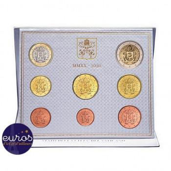 Set BU VATICAN 2020 - Série 1 cent à 2 euros - Brillant Universel