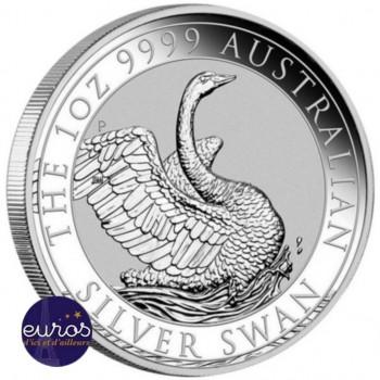 AUSTRALIE 2020 - 1$ AUD - Le Cygne - 1oz (once) argent - Bullion