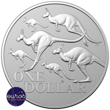 AUSTRALIE 2020 - 1$ AUD - Kangourou Rouge - 1oz (once) argent - Bullion