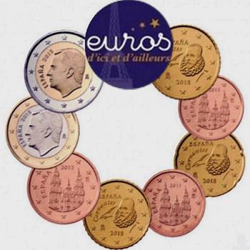 Série 1 cent à 2 euros ESPAGNE 2020 - UNC