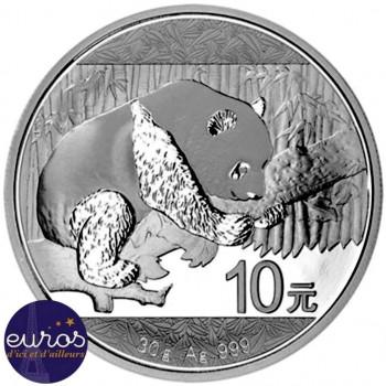 CHINE 2016 - 10 yuan - Panda - Argent 30 grammes - Bullion