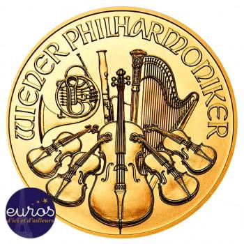 25 euros AUTRICHE 2019 - 1⁄4 oz or - Orchestre Philarmonique de Vienne - Bullion Coin